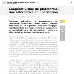 Coopérativisme de plateforme, une alternative à l'uberisation