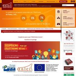 Coopérons pour que l'illettrisme recule ! Solutions et partage / Projet en cours / Fonds Social Européen