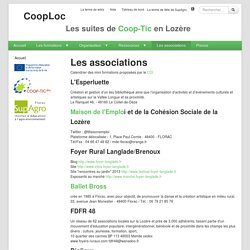CoopLoc : LesAssociations