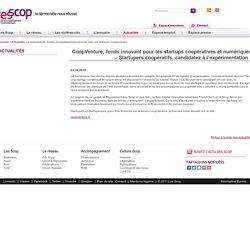 Coopventure, fonds d'investissement tourné vers les startups numériques