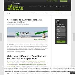 Coordinación de la Actividad Empresarial en autónomos