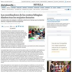 Diario de Sevilla - Los coordinadores de los centros bilingües d