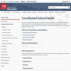 Coordinated School Health - TN.Gov