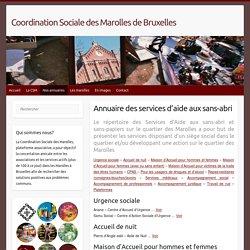 Coordination Sociale des Marolles de Bruxelles