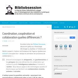Coordination, coopération et collaboration quelles différences ? -