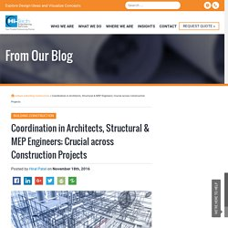 Importance of Lining up the tasks of Architects and Engineers (Structural and MEP)
