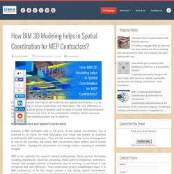 How BIM 3D Modeling Aids in MEP Spatial Coordination?