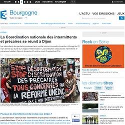30/08 La Coordination nationale des intermittents et précaires se réunit à Dijon