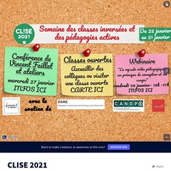 CLISE 2021 by Coordination Toulouse on Genially