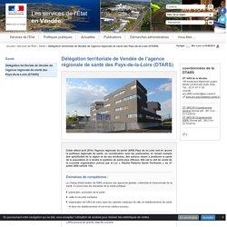 coordonnées de la DTARS - Internet des Services de l'Etat de Vendée