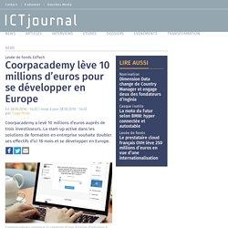 Coorpacademy lève 10 millions d'euros pour se développer en Europe
