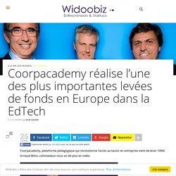 Coorpacademy réalise l'une des plus importantes levées de fonds en Europe dans la EdTech