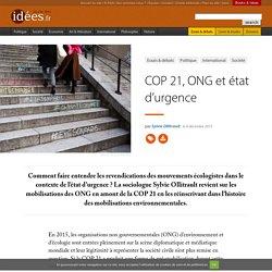 COP 21, ONG et état d'urgence