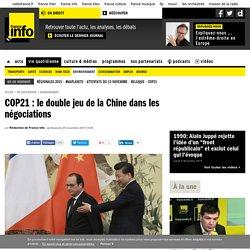 COP21 : le double jeu de la Chine dans les négociations