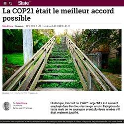 23/12/15 La COP21 était le meilleur accord possible