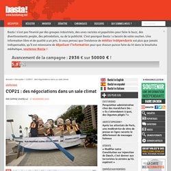 COP21 : des négociations dans un sale climat