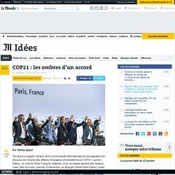 COP21: les ombres d'un accord