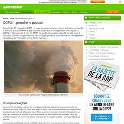 COP21 : prendre le pouvoir