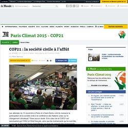 COP21: la société civile à l'affût