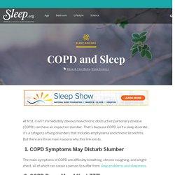 COPD and Sleep - Sleep.Org