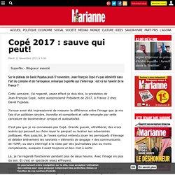 Copé 2017 : sauve qui peut!