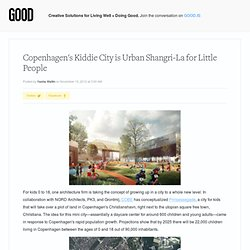 Copenhagen's Kiddie City is Urban Shangri-La for Little People