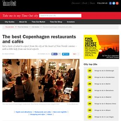 Best Copenhagen restaurants and cafés