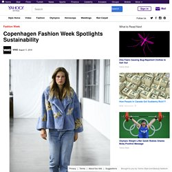 Copenhagen Fashion Week Spotlights Sustainability