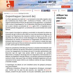 Copenhague (accord de)
