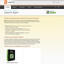 Agent Personal - La recherche Internet avancée rendue facile