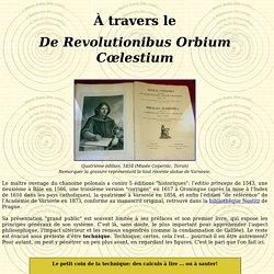 Copernic De Revolutionibus