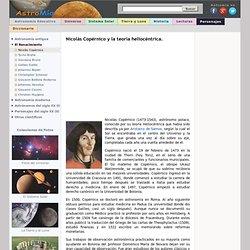 Nicolás Copernico y la teoría heliocéntrica