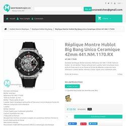 Copie Montre Hublot Big Bang Unico Ceramique 42mm 441.NM.1170.RX [441.NM.1170.RX]