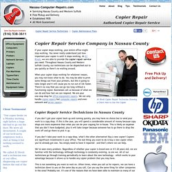 Copier Repair Service Company: Avoid Copier Problems in Future