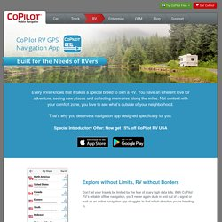 CoPilot RV GPS Navigation App