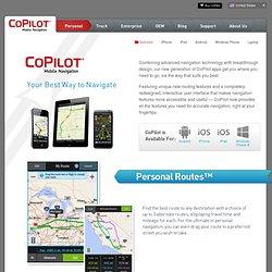 CoPilot Live - Your Best way to Navigate