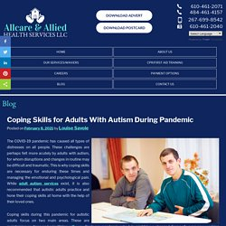 Coping Skills for Adults With Autism During Pandemic