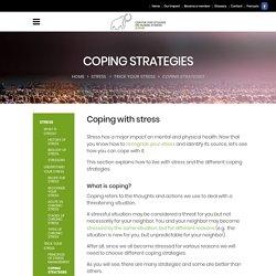 Coping strategies – CESH / CSHS