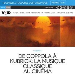 De Coppola à Kubrick: la musique classique au cinéma