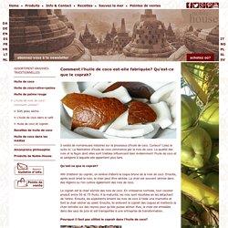 Qu'est-ce que le coprah? Utilisé dans l'huile de coco - Amanprana