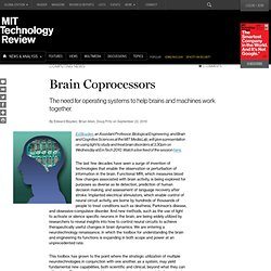 Technology Review: Brain Coprocessors