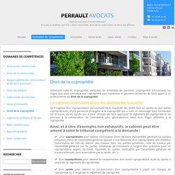 Droit de la copropriété « Cabinet d'avocats Pascal PERRAULT