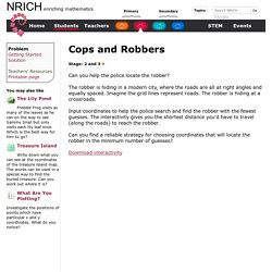 Cops and Robbers MA
