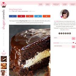 Copycat Hostess Ding Dong Cake recipe