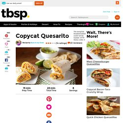 Copycat Quesarito recipe