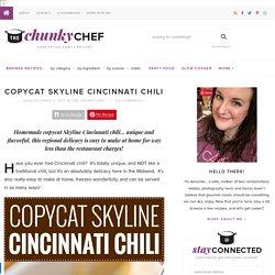 Copycat Skyline Cincinnati Chili - The Chunky Chef