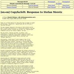 [ox-en] Copyfarleft: Response to Stefan Meretz