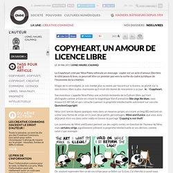 Copyheart, un amour de licence libre