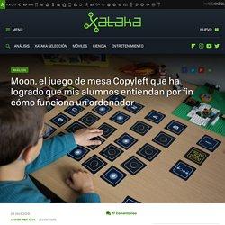 Moon, el juego de mesa Copyleft que ha logrado que mis alumnos entiendan por fin cómo funciona un ordenador