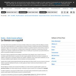 Le licenze con copyleft - Guida Licenze software - Download HTML.it